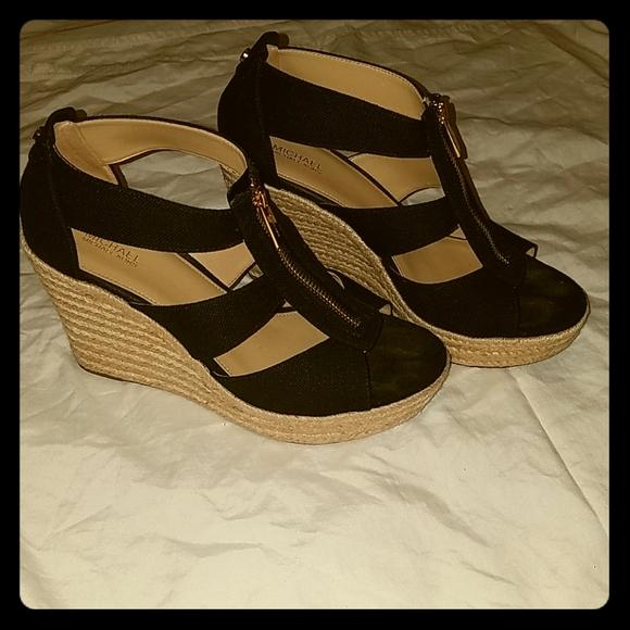 Michael Kors Damita Wedge Heel Sandals